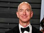 Amazon founder and CEO Jeff Bezos is now worth $141.9billion, easily making him the richest man in the world