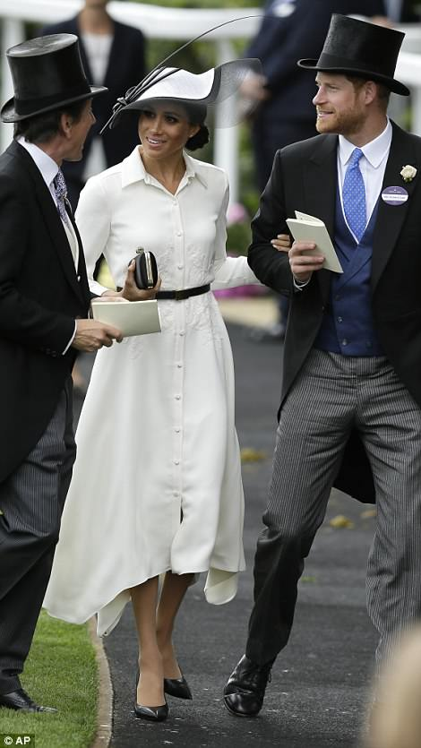 Their appearance today marks exactly a month from the royal wedding