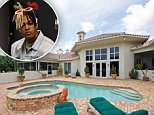 The $1.4million home was bought by XXXTentacion back in November and has been under renovation since