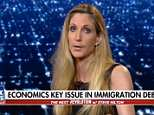 Ann Coulter called immigrant children who've been shown crying as they're ripped from their parents at the border 'child actors' while appearing on a Fox News panel Sunday