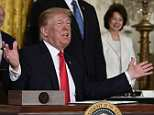 President Donald Trump pledged to revive the US space program,ledging to revive the country's flagging efforts, return to the moon and eventually send a manned mission that would reach Mars