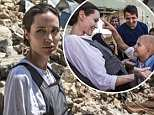 Angelina Jolie has traded the bright lights of LA for war torn Mosul to meet with the victims of Iraq's recent bloody conflict that has claimed the lives of hundreds of thousands.The Hollywood star, known for her impressive humanitarian credentials, is a United Nations special envoy and met up with starstruck youngsters and parents as part of her role