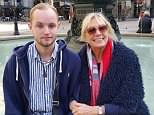 Privately-educated fine art student Harrison Scott-Hood (pictured with his mother Susie) died along with Jack Gilbert, 23, and Alberto Fresneda Carrasco, 19, when they were hit by a train