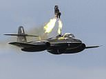 Ejector seat maker Martin-Bakerhas carried out a high altitude test  in Chalgrove,Oxfordshire