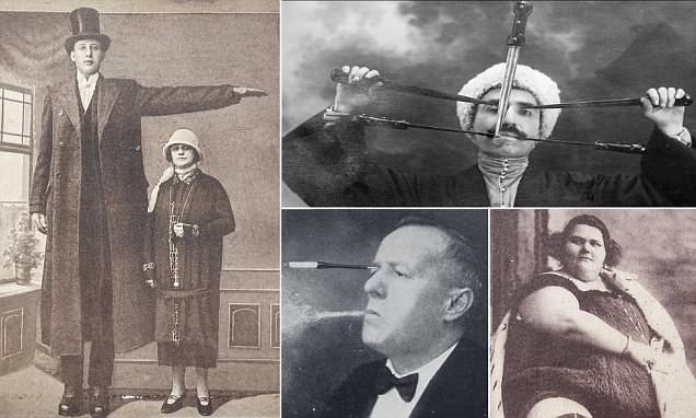 PT Barnum and other circus act photos from early 20th century up for auction