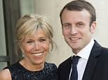 Documentary Brigitte Macron: A French Novel presented Mrs Macron (pictured with Macron) as her younger husband's coach and muse and the couple as very much in love