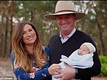 Barnaby and Natalie Joyce have four adult daughters together (pictured) - and Ms Joyce said she was speaking up to the Australian Women's Weekly to 'defend our fine name'. (Back left, Bridgette, back right Odette, front left Caroline, centre Natalie and front right Julia)