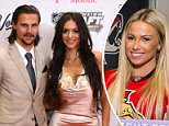 Melinda Karlsson (right), the wife of Ottawa Senators captain Erik Karlsson (left), has filed an order of protection against Monica Caryk, alleging harassment and cyberbullying. Wives associated with the team took to social media to give support to the couple