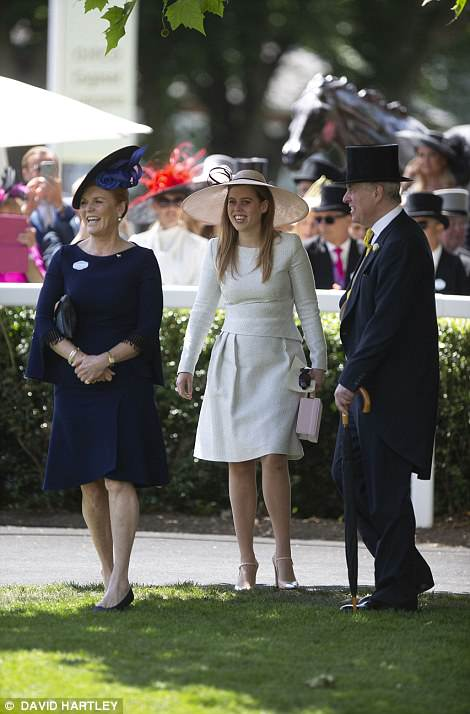 Although the Duchess rarely joins her family at royal events, Ascot is an annual exception