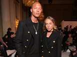 'Hot felon' Jeremy Meeks (pictured left) is reportedly bringing his nine-year-old son Jeremy Jr to the UK to be with his newborn son and girlfriend Chloe Green (right)