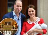 Prince Louis of Cambridge, pictured on April 26, will be christened on July 9 in London