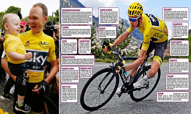 Chris Froome wins a stunning fourth Tour de France