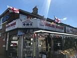 Business owner Gagan, 31, received an anonymous letter last week after he put up St George's flags, claiming that as an Indian, he should not show support for England during the World Cup