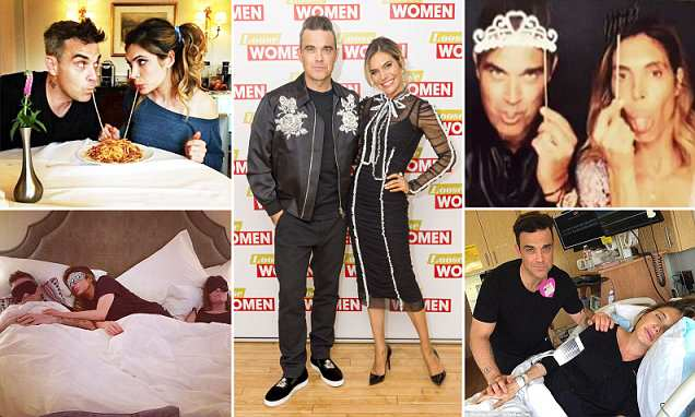 The truth about Robbie Williams' real-life angel wife Ayda Field