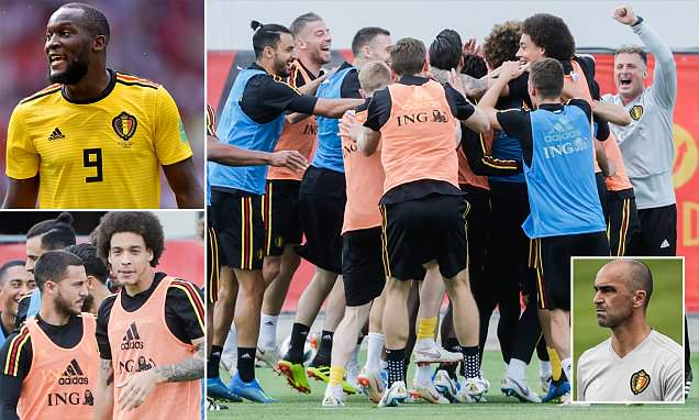 Romelu Lukaku sits out Belgium training for second day running ahead of England clash