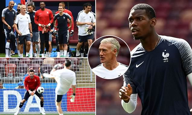 Deschamps' France vow to make Denmark boss eat his words in decider