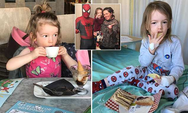 Girl, 3, with an inoperable brain tumour may now survive