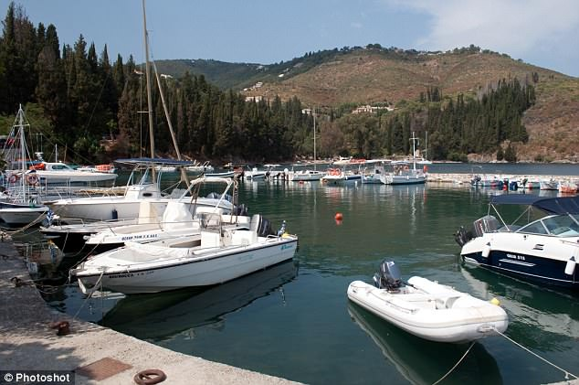 Investigators said the yacht, which is based in Kouloura harbour, Corfu, suffered minor damage when a faulty fuel pump ignited petrol, injuring the eight-year-old girl