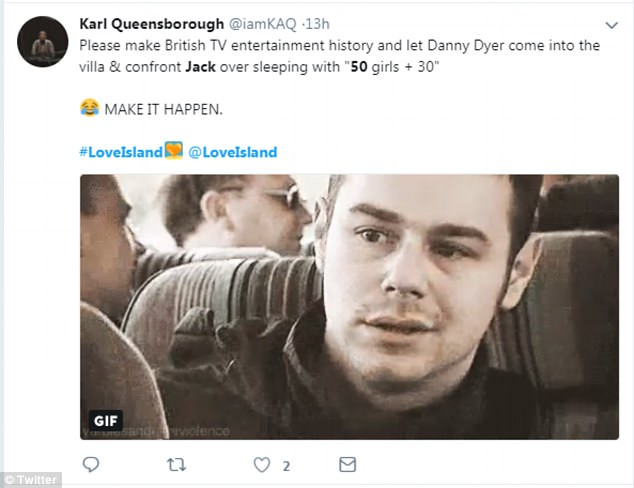 Shocker...Having voiced concern over Dani's father's reaction to his antics, viewers soon noted he should be fearful of his prospective father-in-law