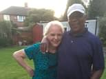 Gayle Anderson, 71, and her husband Charlie, 74, were discovered 'partially burned' near their home in Mount Pleasant, Jamaica on Friday