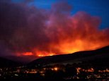 Firefighters are struggling to contain the blaze on Saddleworth Moors threatening nearby houses. The wildfires started on Sunday evening and have continued for 48 hours