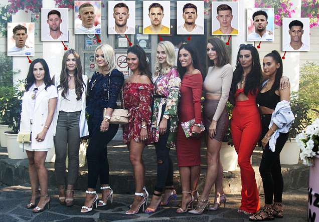 World Cup 2018: England WAGs head out for a group dinner in Russia