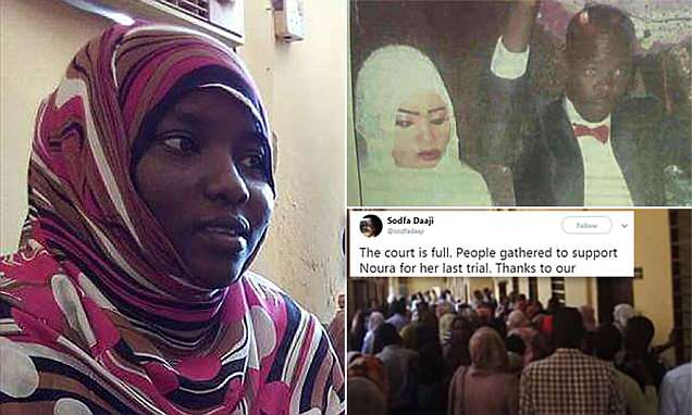 Sudanese girl is SAVED from execution after  killing rapist husband