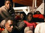 Spain today refused to accept a charity boat German rescue ship Lifeline after it became the second to be turned away by Italy. Migrants are pictured aboard the boat on Monday as it circles off Malta. A deal has now been struck for the boat to dock in Malta, and Italy will accept some of the migrants onboard