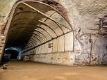 Built in 1943, the Drakelow Tunnel site was one of 26 set up to mass produce engines and parts for military aircraft