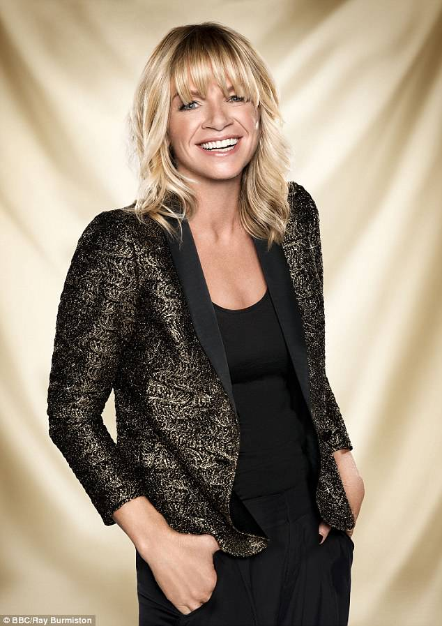 Milestone: Zoe Ball took to Instagram to share that she was two years sober on Monday night