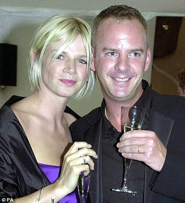 The way they were:  Zoe's ex-husband Norman Cook, also known as Fatboy Slim, gave up alcohol completely in 2009 after checking himself into rehab