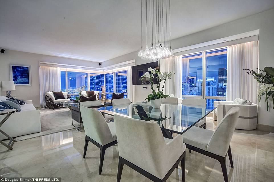 For sale:Joanna Krupa has slashed the price of her stunning $1.9 million Miami apartment by $300,000, despite the abode boasting floor-to-ceiling windows and skyline views