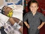 Anthony Avalos, 10, died Thursday after he was found unresponsive with severe head injuries at his home