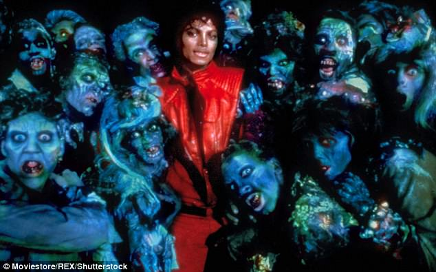 Chilling: In 1983 he became an international icon with the release of Thriller, the best-selling album of all time, selling more than 66m copies