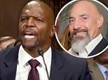 Standing strong:Terry Crews spoke about the night he was allegedly assaulted by WME agent Adam Venit in testimony on Capitol Hill (Crews above on Tuesday)