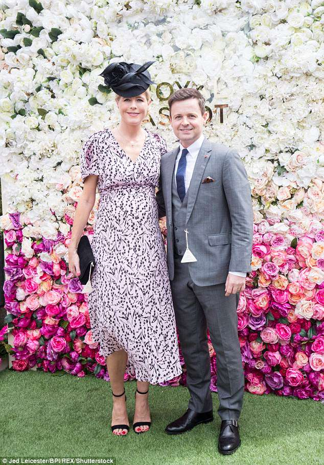 Pals: It has been reported that Declan Donnelly's wife Ali has become pals with Anne-Marie
