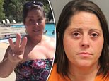 Stephanie Sebby-Strempel, 38, was said to have told a 15-year-old boy and his friends that 'they did not belong and they had to leave' a pool in Summerville