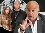 Pictured: Arcadia chairman, Topshop owner and ex-BHS boss Sir Philip Green