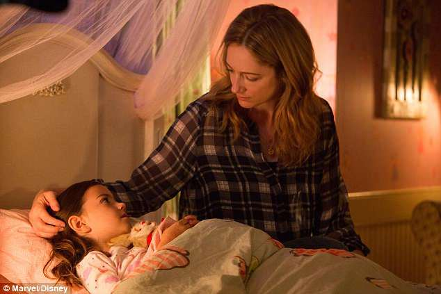 Hit movie: Judy is shown with Abby Ryder Fortson in a still from 2015's Ant-Man