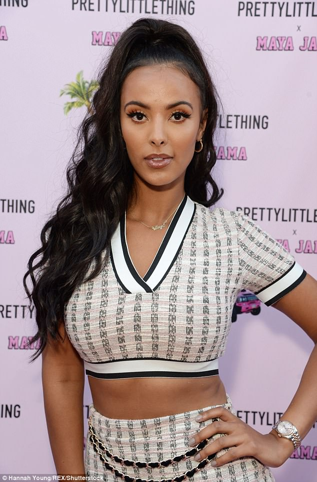 Host:Maya Jama was the woman of the hour, as she hosted a party to celebrate her new fashion line in collaboration with the website