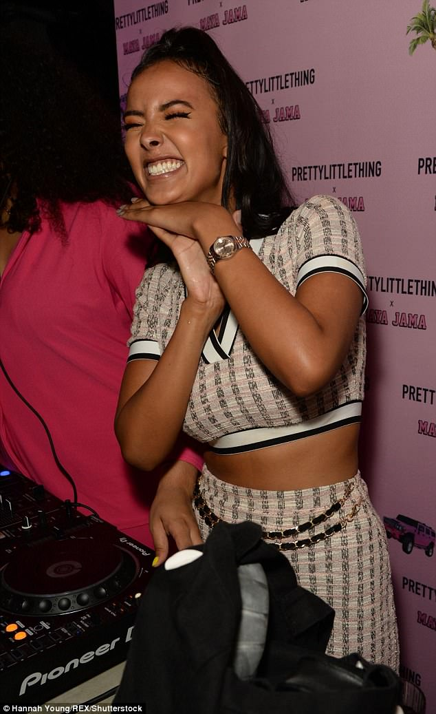 It's my party: The Radio 1 DJ could barely wipe the smile off her face all night