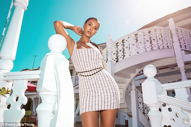 Collection: Although only giving a glimpse of her highly-awaited collection, the rest of Maya's exciting collaboration features a mash up of prints and textures which nod to checks, roaring animal print and standout slogan pieces