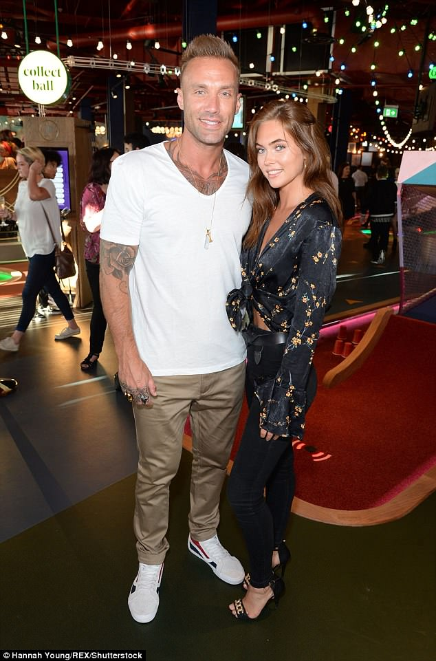 Smitten? Calum Best, 37, is dating stunning model Hannah Murrell who is 16 YEARS his junior after they met on a romantic cruise in Barcelona