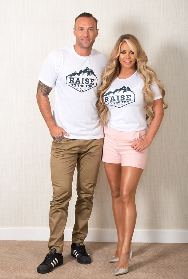 Past relationships: Calum previously dated fellow celebrity offspring Bianca Gascoigne after appearing in Love Island together in 2006