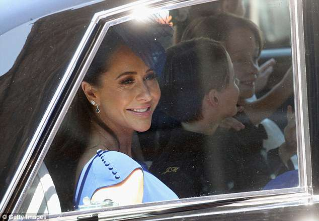 BFF: She fulfilled a role of an unofficial made of honor and was close by Meghan for the wedding