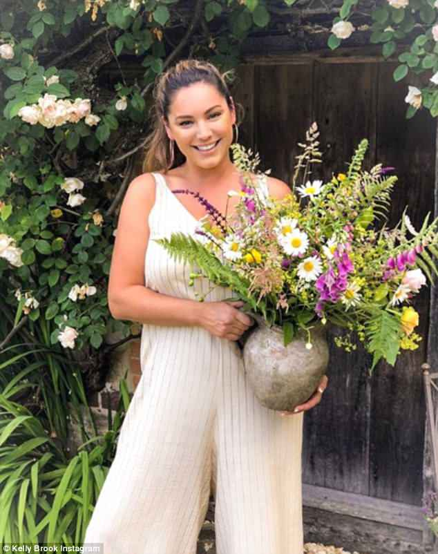 Garden mad: Kelly was met with scrutiny, given the fact that she hasn't trained professionally in horticulture, especially when she stated that plants need to be kept watered