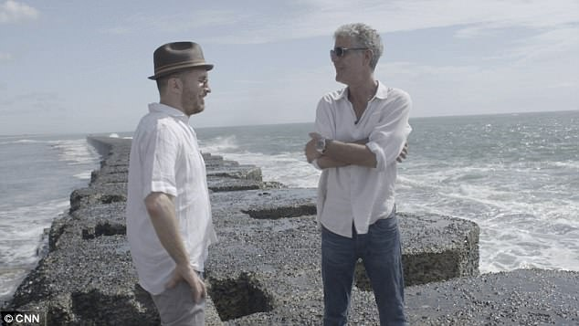 Aronofsky and Bourdain are seen here in Madagascar in 2015, which is the trip where they first met in person after connecting on social media in 2014