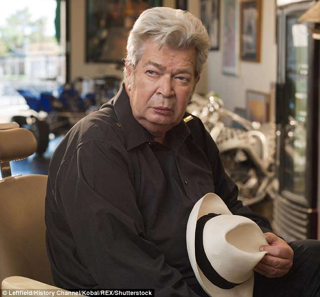 A sad loss for TV: Richard Harrison of Pawn Stars fame has died at the age of 77; here he is seen in 2009