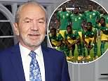 Lord Sugar tweeted this picture of the Senegal team, edited to include handbags and sunglasses laid out on sheets.The picture is from November 2014, when Senegal beat Egypt 1-0. Back row (from left) are 6 Salif Sane, 9 Mame Biram Diouf, 2 Papy Djilobodji, 5 Papa Kouly Diop, 3 SerigneModou Kara Mbodji and 1 Bouna Coundoul. Front row (from left) are 17 Idrissa Gana Gueye, 12 Stephane Badji, 8 Cheikhou Kouyate, 10 Sadio Mane and 13 Cheikh Mbengue