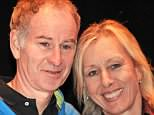 John McEnroe and Martina Navratilova. She revealed she is paid a tenth of what he gets for Wimbledon coverage